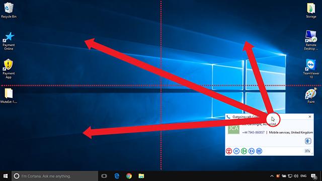 Preview window move diagram