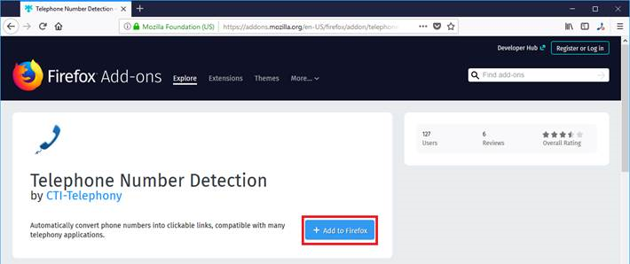 Download Telephone Number Detection