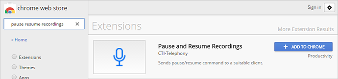 Pause and Resume Recordings in the Chrome Web Store